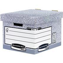 """Archívny kontajner, kartónový, štandard, \""""BANKERS BOX® SYSTEM by FELLOWES®"""
