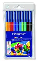 """Fixky, 1 mm, vyprateľné, STAEDTLER \""""Noris Club\"""", 10 rôznych farieb"""