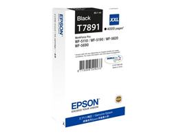 Cartridge EPSON T7891 (C13T789140) black XXL (4.000 strán) - originál