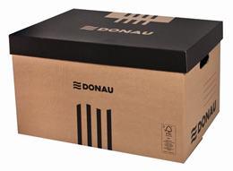 Archívny kontajner, 522x351x305 mm, kartónový, DONAU