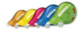 "Korekčný roller, 4,2 mm x 5 m, KORES ""Scooter"", mix farieb"