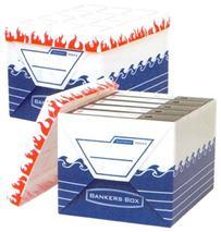 """Archívny kontajner, vodeodolný a ohňovzdorný, štandard, \""""BANKERS BOX® ELEMENT by FELLOWES®"""