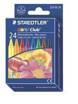 "Voskovky, STAEDTLER \""Noris Club\"", 24 rôznych farieb"