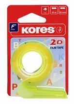 """Dávkovač lepiacej pásky, s lepiacou páskou, KORES """"2D"""