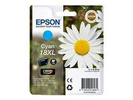 Cartridge EPSON T1812 (C13T18124010) 18XL cyan - originál
