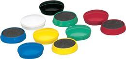 Magnetky, 24 mm, 10 ks, 5 STAR, mix farieb