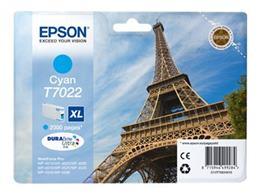 Cartridge EPSON T7022 XL (C13T70224010) cyan - originál