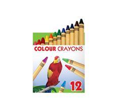 """Voskovky, ICO \""""zvieratá\"""", 12 rôznych farieb"""