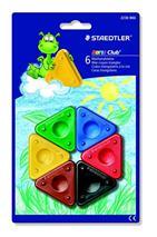 """Voskovky, trojuholníkový tvar, STAEDTLER \""""Noris Club\"""", 6 rôznych farieb"""