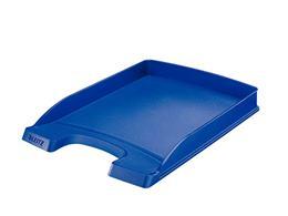 """Odkladač, plastový, tenký, LEITZ \""""Plus\"""", modrý"""