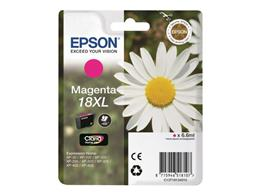 Cartridge EPSON T1813 (C13T18134010) 18XL magenta - originál