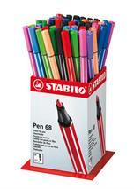 """Popisovač, displej, 1 mm, STABILO \""""Pen 68\"""", mix farieb"""