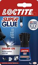 Sekundové lepidlo LOCTITE Super Attak Easy Brush 5ml, (Henkel)