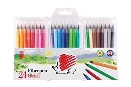 """Fixky, 1 mm, ICO \""""Ježko 300\"""", 24 rôznych farieb"""