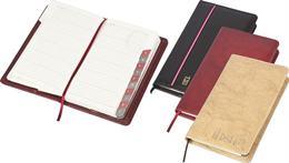 Telefónny register, A6, koženka, PANTA PLAST, hnedá