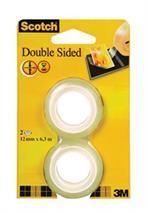 Lepiaca páska, obojstranná, náhrada, 12 mm x 6,3 m, 3M SOCTCH