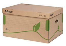 """Archívny kontajner \""""Eco\"""", s otváraním zhora, hnedý"""