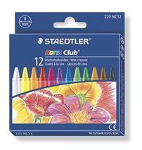 "Voskovky, STAEDTLER \""Noris Club\"", 12 rôznych farieb"