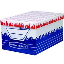 """Archívny kontajner, vodeodolný a ohňovzdorný plast, extra veľky, \""""BANKERS BOX® ELEMENT by FELLOWES®"""
