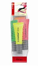 """Zvýrazňovač, sada, 2-5 mm, STABILO \""""Neon\"""", 4 rôzne farby"""