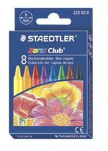 "Voskovky, STAEDTLER \""Noris Club\"", 8 rôznych farieb"
