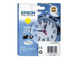 Cartridge EPSON T2714 (C13T27144010) 27XL yellow - originálny