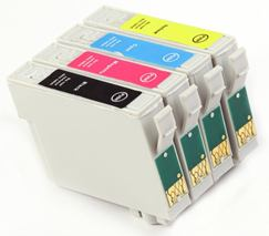 Cartridge EPSON T0715 (C13T07154010) CMYK - kompatibilný