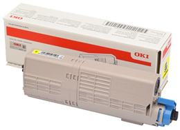 Toner OKI C532/C542/MC563/MC573 (46490605) yellow - originál (6.000 str.)