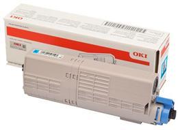 Toner OKI C532/C542/MC563/MC573 (46490607) cyan - originál (6.000 str.)