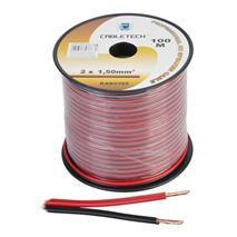 Kábel REPRO. 2x 1,5mm CU čier-červ(100m)