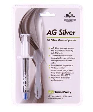 Pasta termovodivá Silver 3g  AG