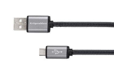 Kábel USB A - micro USB 1,8m Kruger&Matz