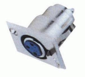 Konektor XLR (Canon) zásuv. panel.
