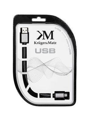 Kábel USB A - micro USB 1m Kruger&Matz