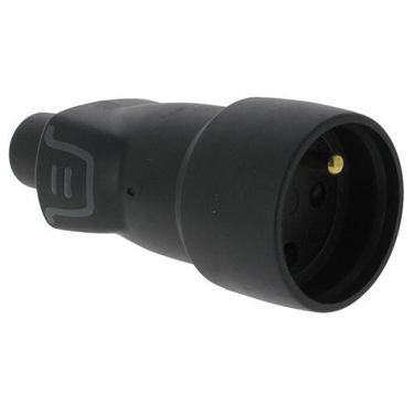 Sieť. zásuvka gumová LEGRAND 250V IP44