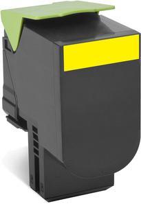 Toner Lexmark 802Y, 80C20Y0 (CX310, CX410, CX510), žltá (yellow), kompatibilný