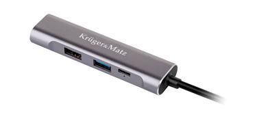 Adaptér(HUB) USB typ C na HDMI/USB3.0/USB2.0/C port