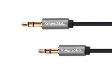 Kábel Jack 3,5mm - Jack 3,5mm, 1m Kruger&Matz Basic