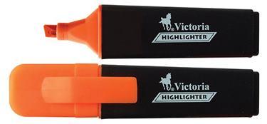 """Zvýrazňovač, 1-5 mm, VICTORIA, \""""Color 100\"""", oranžový"""